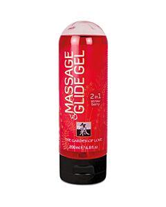 Gel per massaggio shiatsu e lubrificante