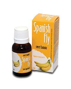 Gocce di mosca spagnola dell'amore dolce banana