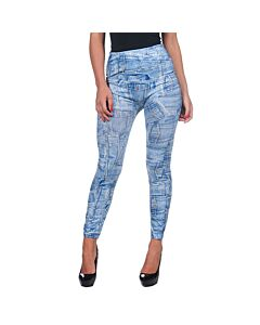 Giacca leggings Intimax blu