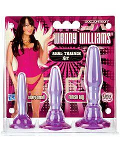 Kit di allenamento anale viola di Wendy Williams