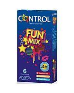 Control preservativi fun mix 6 pz