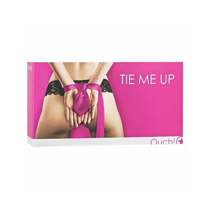 Manette cravatta bondage rosa