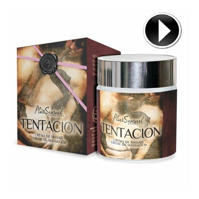 Gioco segreto più crema da massaggio sensuale tentazione