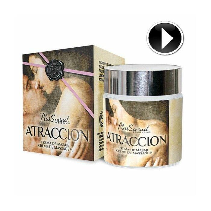 Gioco segreto più crema da massaggio con attrazione sensuel