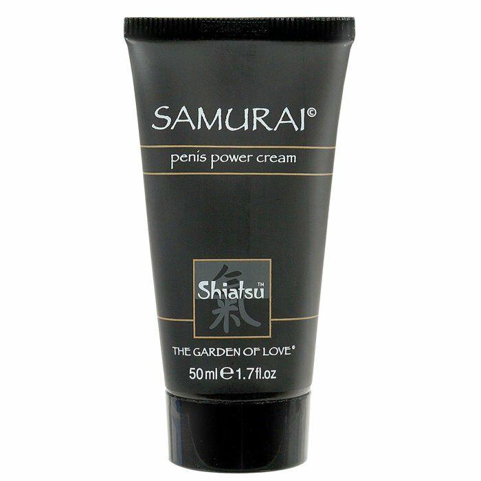 Crema per migliorare l'erezione del samurai di Shiatsu