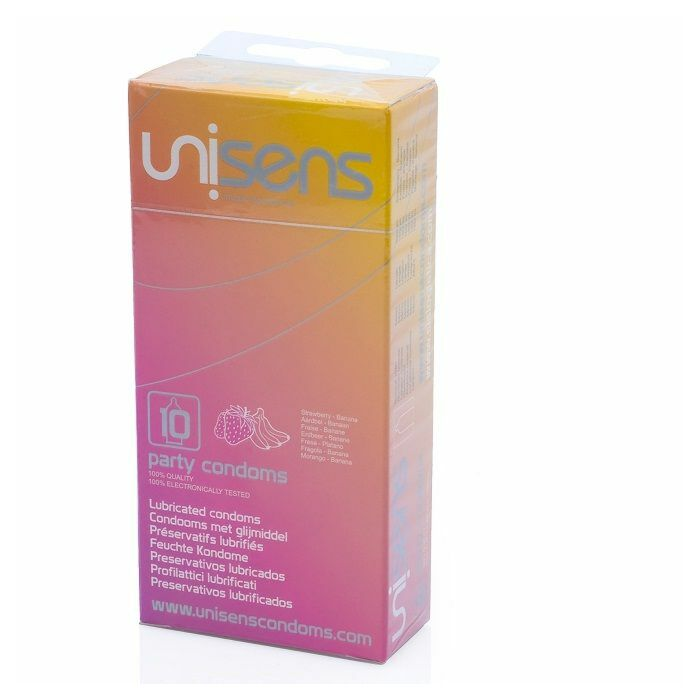 Preservativi Unisens vari gusti 10 pezzi