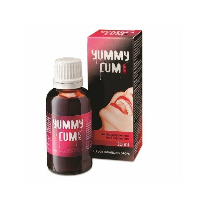 Sperma sem, mas sabor cum drops 30ml
